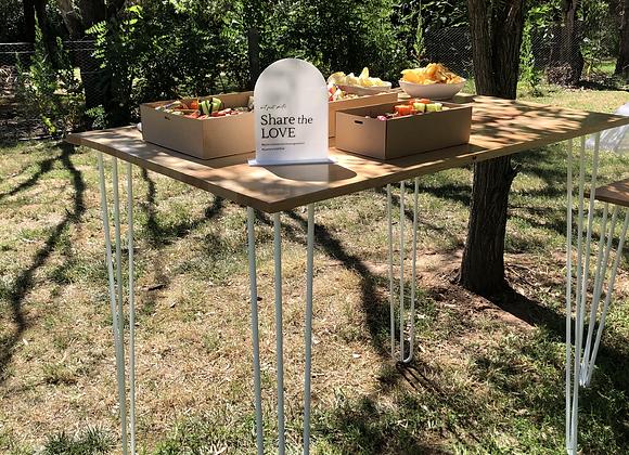 Timber Bar Table