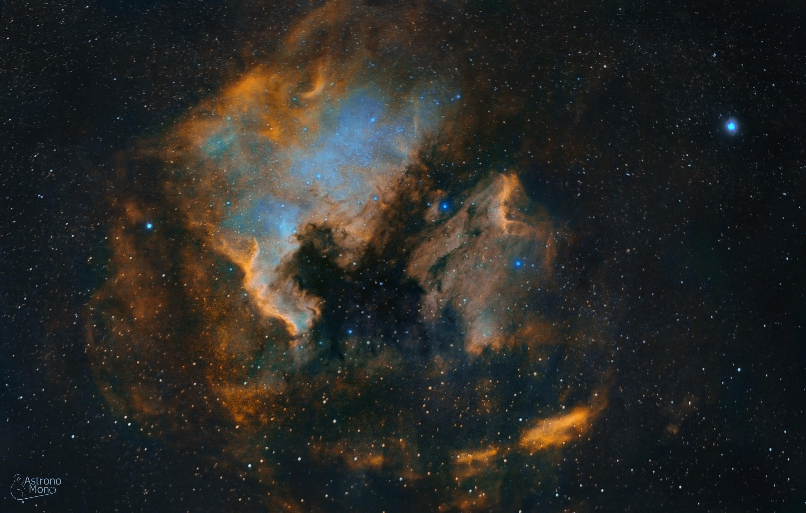 Norte America nebula