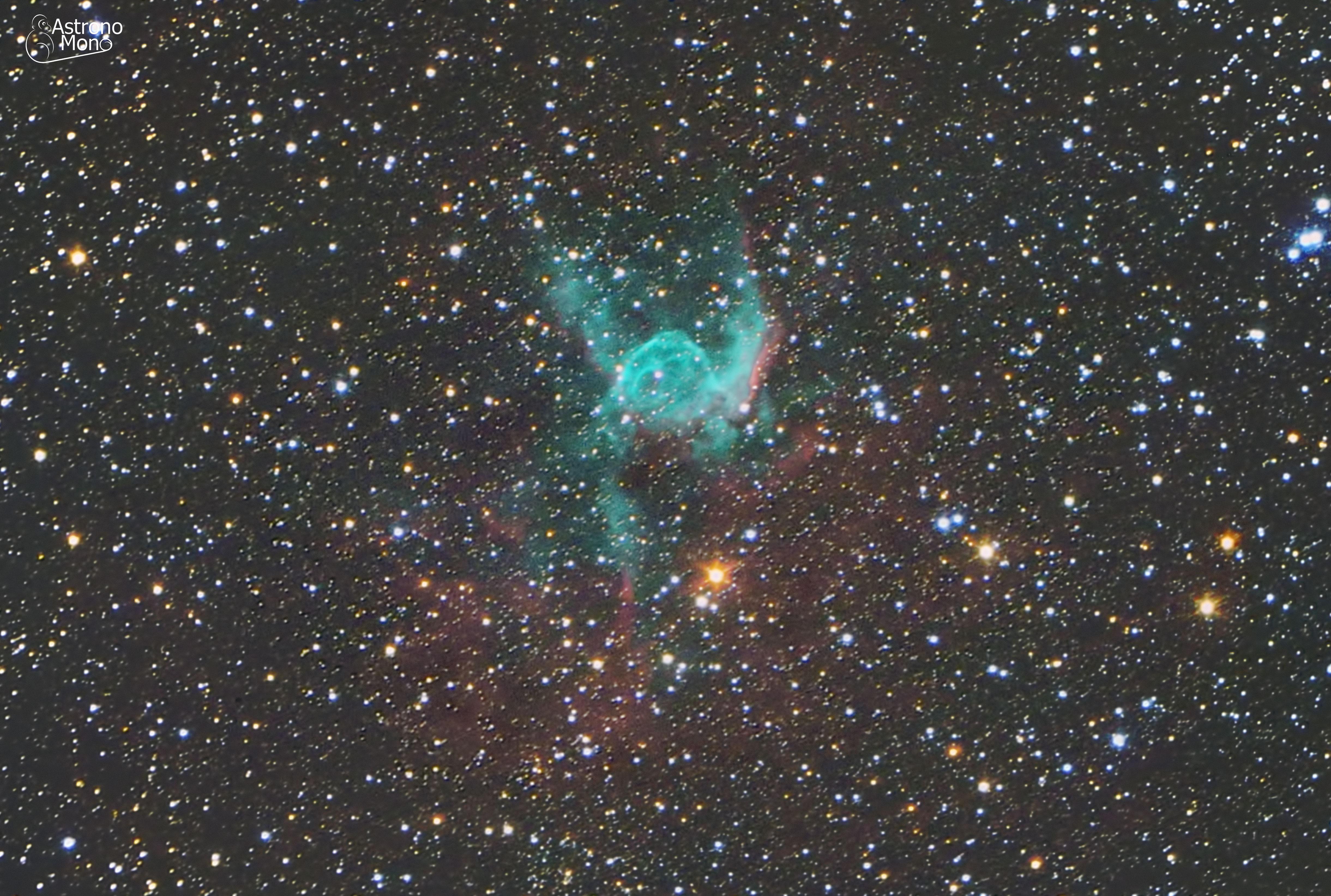 Nebulosa Casco de Thor