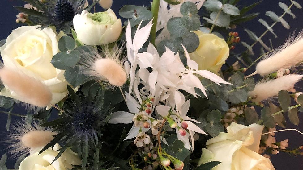 Blue Christmas Bouquet