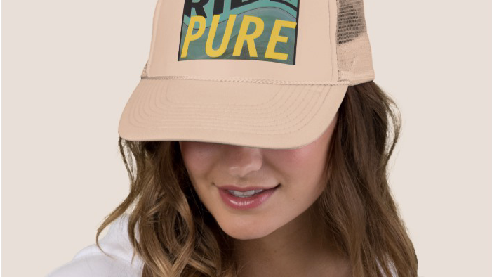 Limited Edition Ride Nowhere cap in Pure Tan