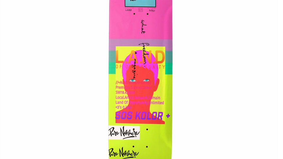 Limited Edition Ride Nowhere skateboard