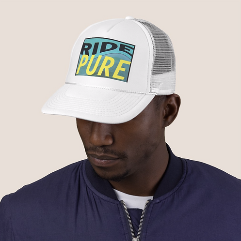 Limited Edition Ride Nowhere cap in Pure White
