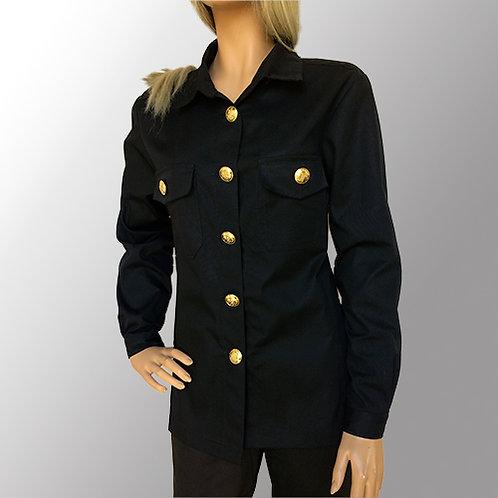 Dameskjorte - Langærmet til fagknapper