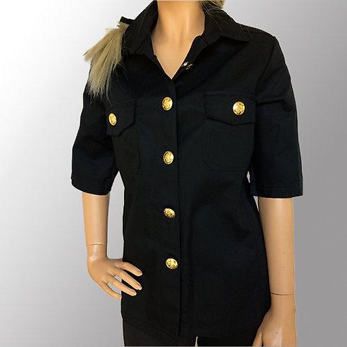 Dameskjorte - Kortærmet til fagknapper