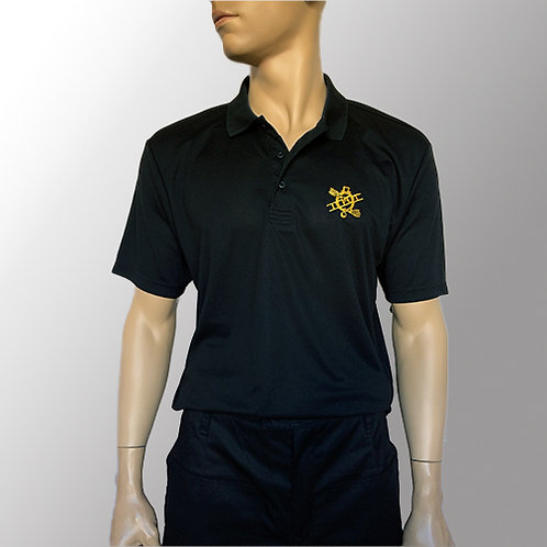 DRY Polo T-shirt - Sort