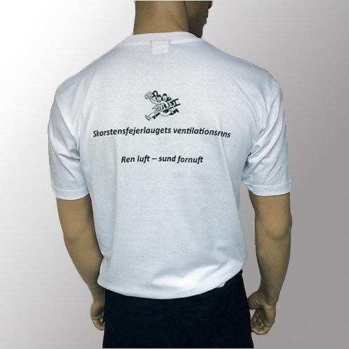 Ventilations T-shirt - Hvid