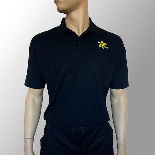 Polo T-shirt - Sort