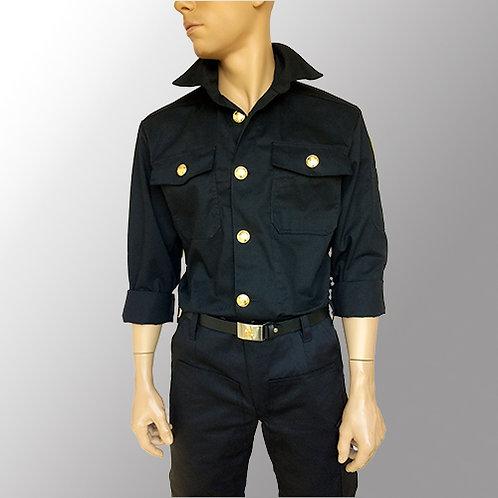Herreskjorte - Langærmet til fagknapper