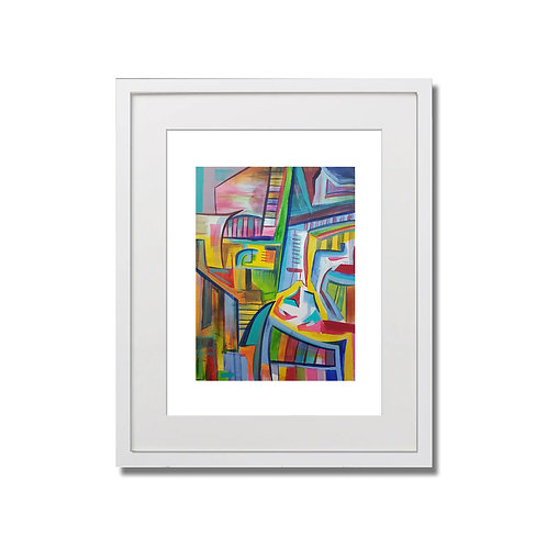 "The Space Between - 12""x16"" -  Limited Edition Signed Print with Frame"