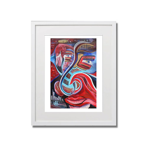 """Lost In Migration - 12""""x16"""" - Limited Edition Signed Print with Frame"""