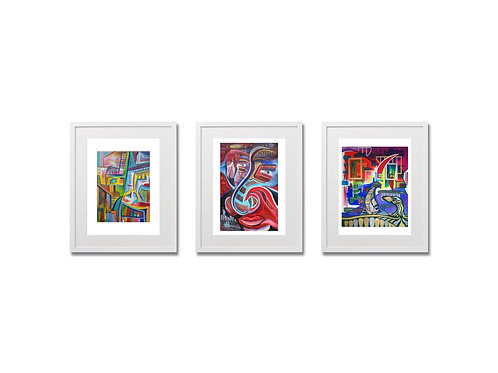 Triptych of Framed Prints