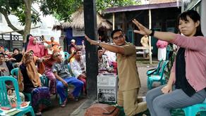2019年3月 インドネシア事業 高齢者リハビリ教室・訪問リハビリ
