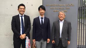 在京タイ大使館でのReCA活動報告