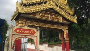 2018年10月 ミャンマー活動 寺でのリハビリ指導