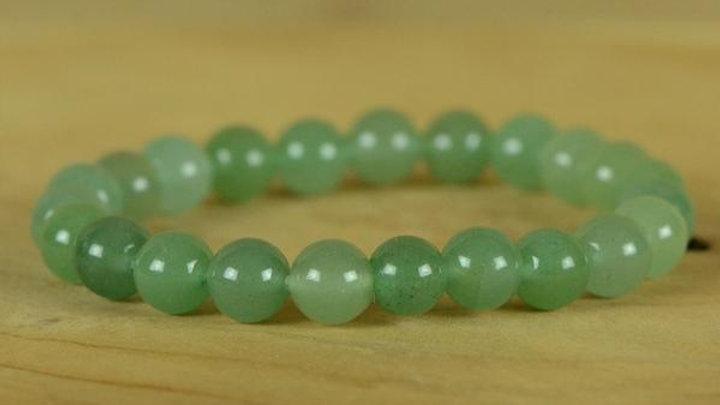 """Bracelet à pierre en """"Aventurine verte"""""""
