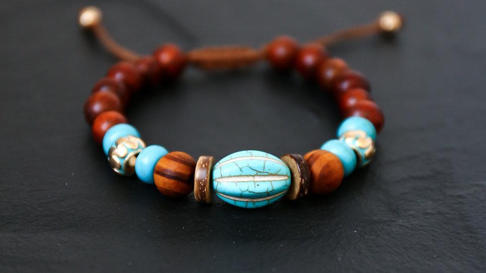 Bracelet en bois