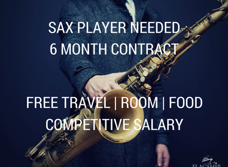 Sax Players Needed for Showband
