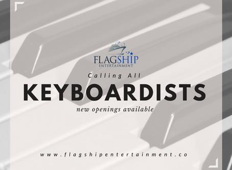Keys for Cruise Ship Showband