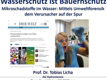 Vortrag von Prof. Dr. Licha an unserer Ackerbautagung 2019