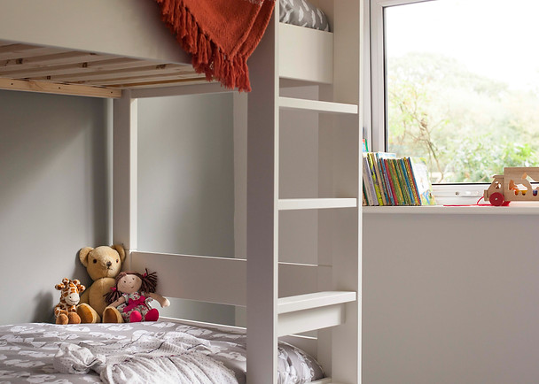 Children's bedroom with toys