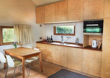 wooden designed kitchen