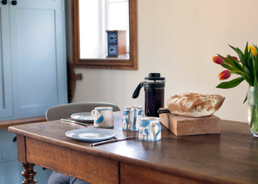 Kitchen Table with Breakfast