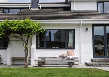 Modern House Exterior with garden