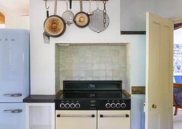 Quirky kitchen scene