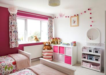 Girls Bedroom Property Photograph