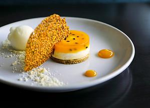Stunning Passionfruit Dessert