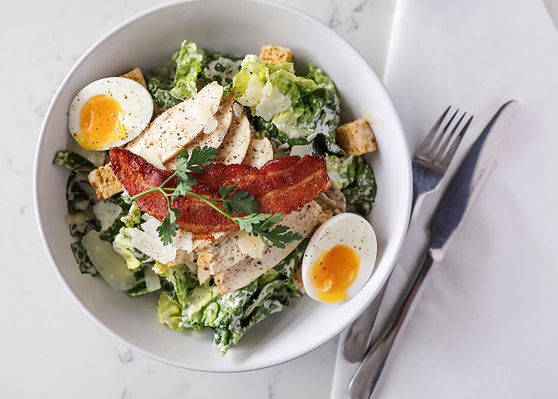Breakfast Ceasar Salad