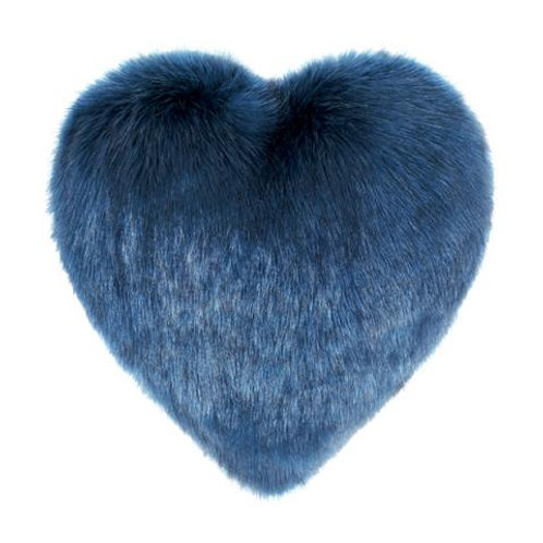 Petrol Heart Cushion