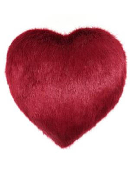 Crimson Heart Cushion