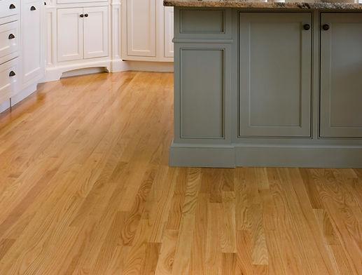 Wood kitchen flooring