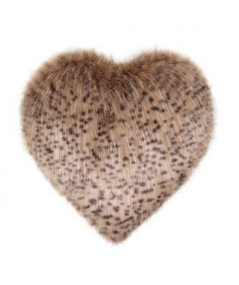 Wildcat Heart Cushion