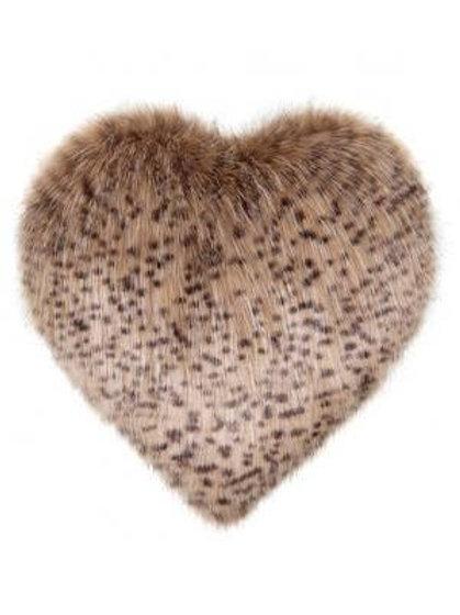 Wildcat Heart Cushion