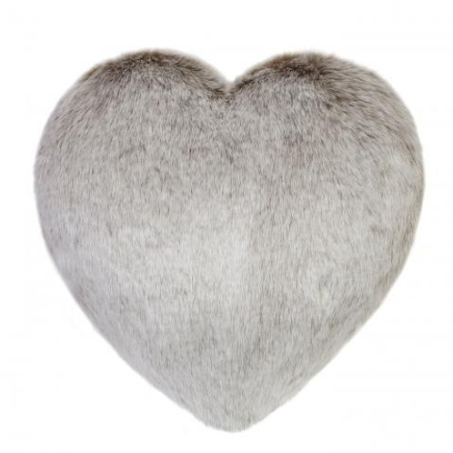 Latte Heart Cushion