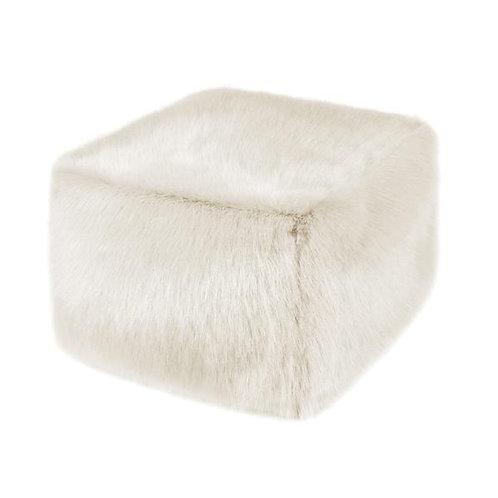 Ermine Faux Fur Cube