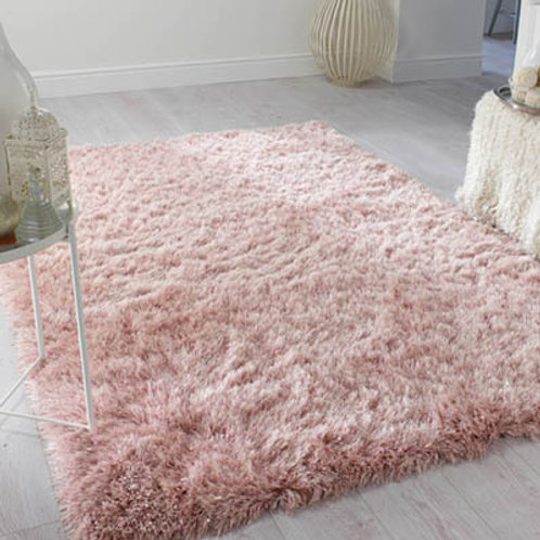 Dazzle Rug Blush Pink