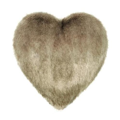 Camel Heart Cushion