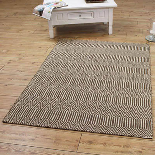 Sloan Modern Rug Brown