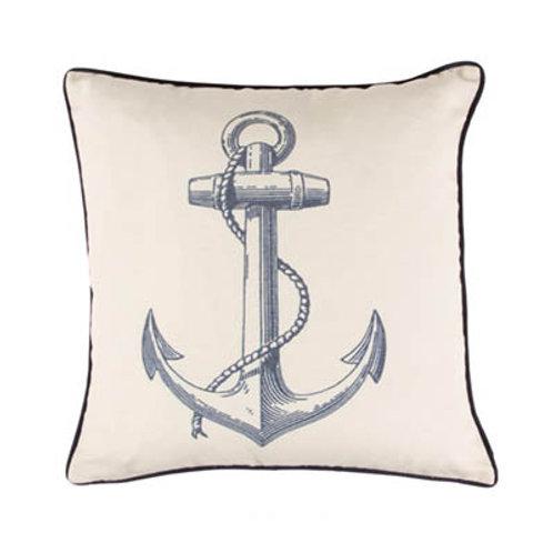 Seaside Anchor Cushion