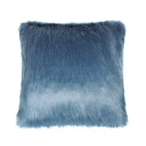 Marine Fur Cushion