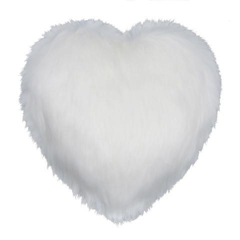 Snow White Heart Cushion