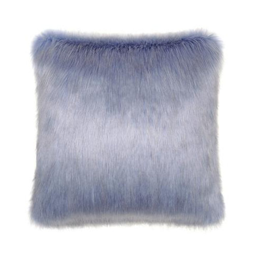 Cornflower Fur Cushion