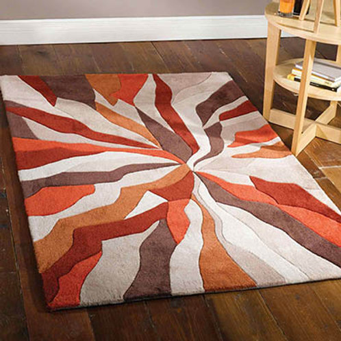 Splinter Rug Orange