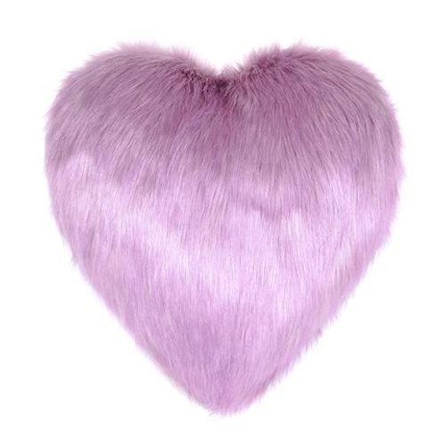 Lilac Heart Cushion