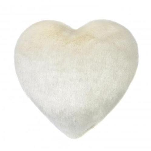 Ermine Heart Cushion