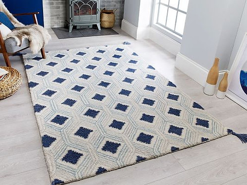Nappe Marco Blue Traditional Rug